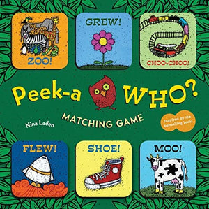 Peek A Who Matching Game