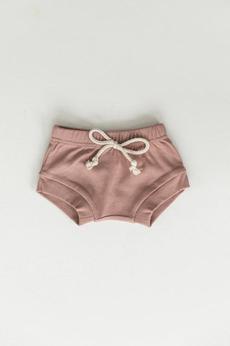 Blush Cotton Shorts