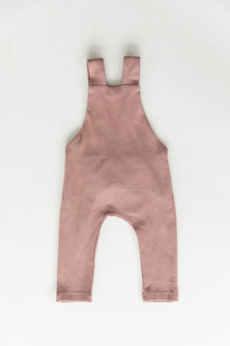Blush Cotton Overalls