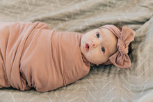 Load image into Gallery viewer, Dusty Rose Stretch Swaddle