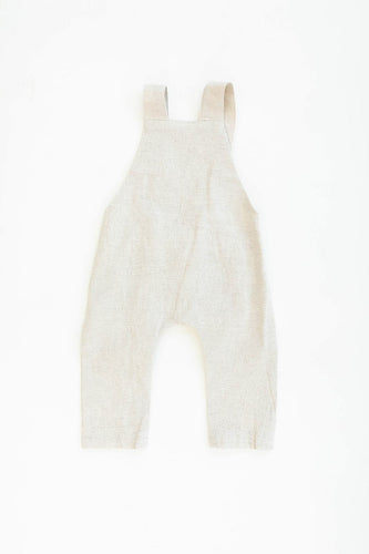 Oatmeal Linen Cotton Overall