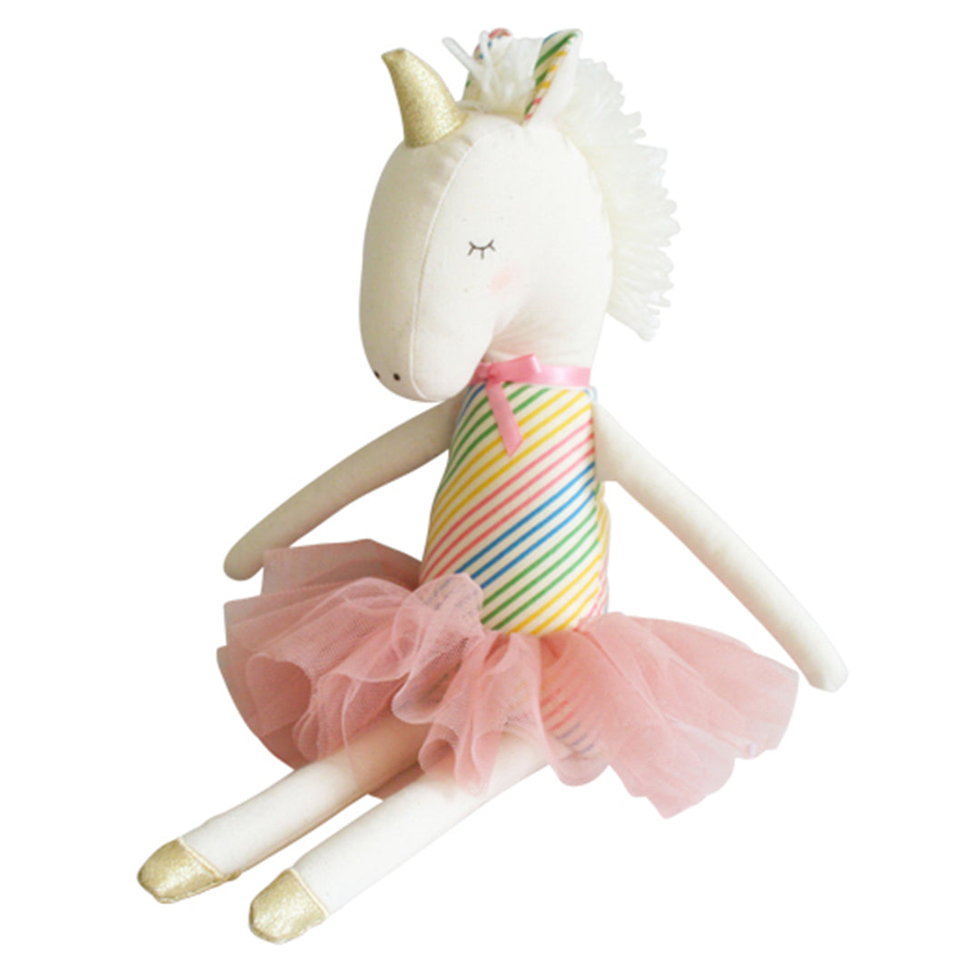 Rainbow Yvette Unicorn Doll