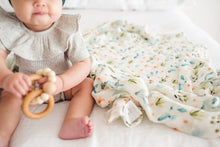 Load image into Gallery viewer, Cactus Floral Muslin Swaddle