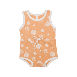 Seashell Drawstring Playsuit