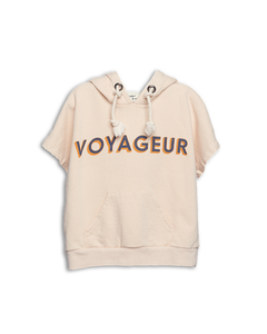 Voyageur Cream Hoodie Sweat Top