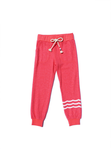 Watermelon Waves Hacci Jogger