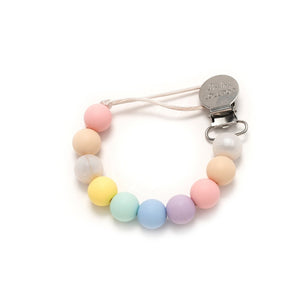 Cotton Candy Lolli Silicone Pacifier Clip