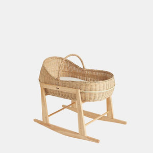 Lyra Bassinet Wood Rocking Stand