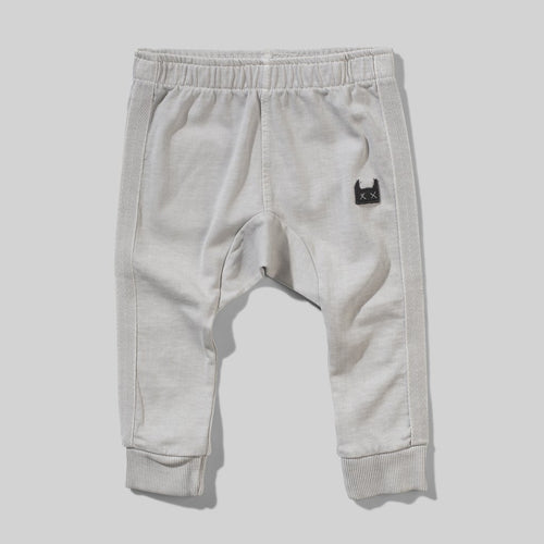 Washed Grey Rugby Baby Pant