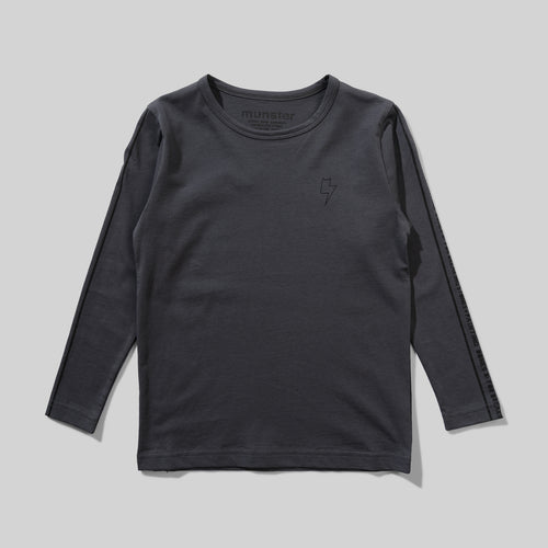 Charcoal Stones Long Sleeve Tee