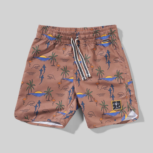 Bronze Burley Swim Short