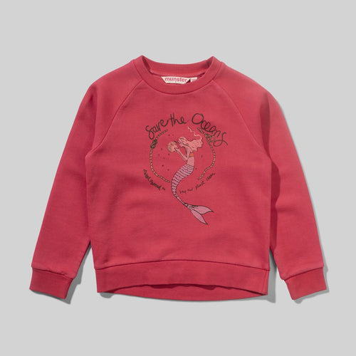 Crystal Mermaid Crew Sweater