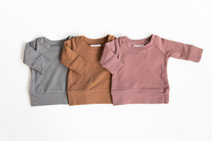 Blush Crew Neck Sweatshirt