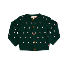 Load image into Gallery viewer, Evergreen Pom Maude Sweater