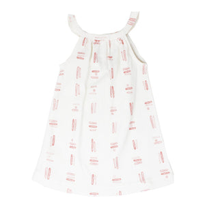 Mauve Tribe Baby Halter Dress