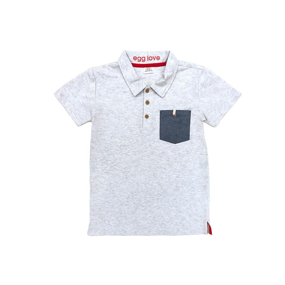 Grey Harrison Polo