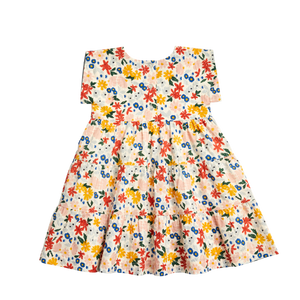 Floral Peachy Dress