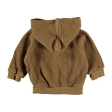 Load image into Gallery viewer, Peanut Cotton Waffled Hoodie