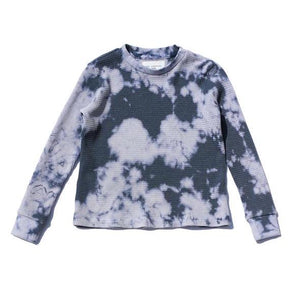 Marble Tie Dye Long Sleeve Tee