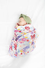Load image into Gallery viewer, Light Field Flowers Muslin Swaddle