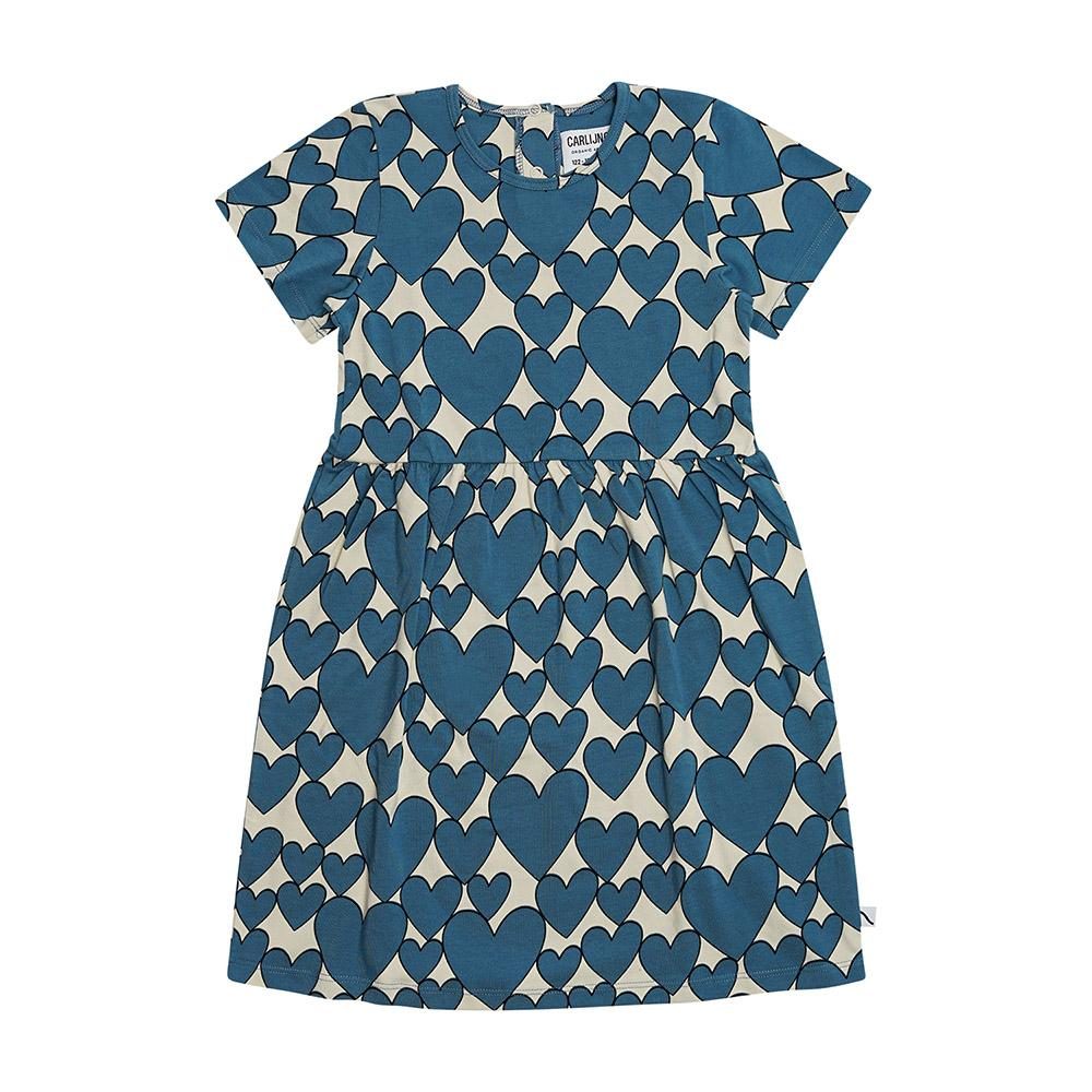 Short Sleeve Heart Dress