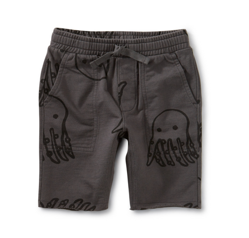Octopus Knit Shorts