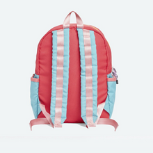 Load image into Gallery viewer, Kane Kids Pink Mint Color Block Backpack