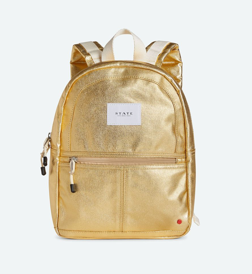 Mini Kane Gold Backpack
