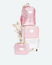 Load image into Gallery viewer, Mini Kane Travel Pink Silver Multi Backpack