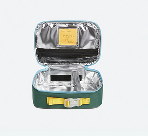 Rodger's Green Navy Color Block Lunch Box
