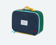 Load image into Gallery viewer, Rodger's Green Navy Color Block Lunch Box