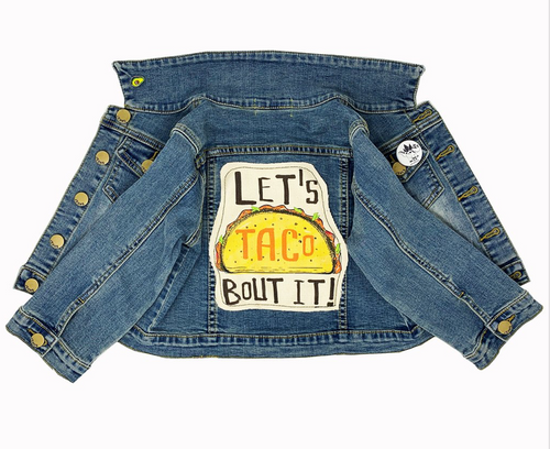 Let's Taco Bout It! Denim Jacket