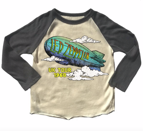 Led Zeppelin Raglan Tee