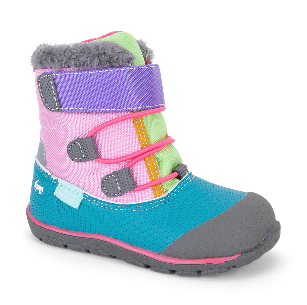 Pink Teal Gilman Boot