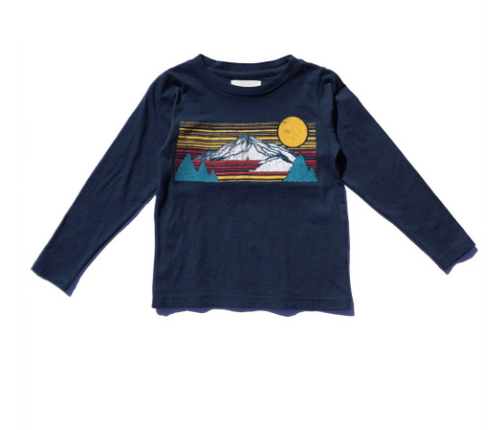 Indigo Sierra Long Sleeve Crew