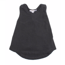 Load image into Gallery viewer, Vintage Black Twist Back Cassie Tank