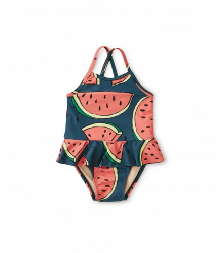 Watermelon Skirted One Piece