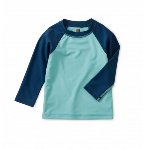Raglan Blue Rash Guard