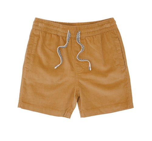 Camel Line Up Corduroy Short