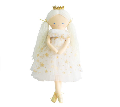 Gold Star Tulle Penelope Princess