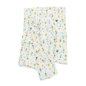 Cactus Floral Muslin Swaddle