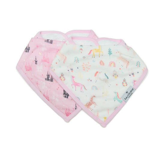 Unicorn Dream Bandana Bib Set