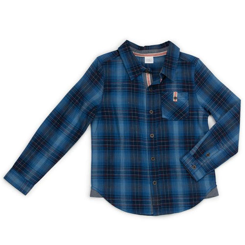 Blue Plaid Maverick Shirt