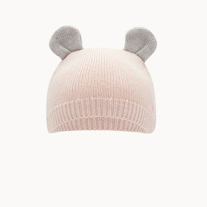 Pale Pink Knitted Hat