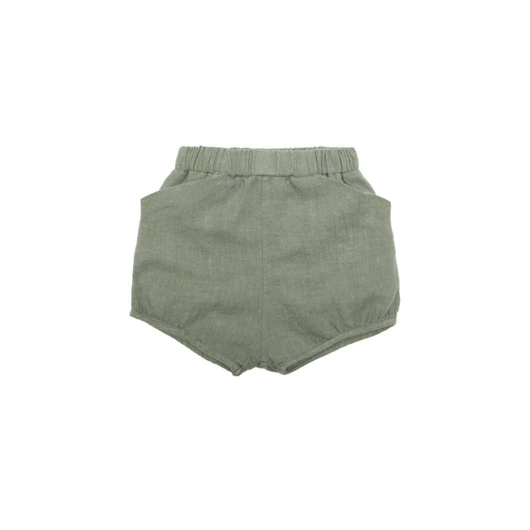 Thyme Woven Bubble Short