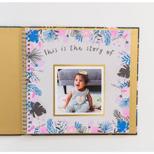 Load image into Gallery viewer, Golden Blossom Baby Memory Book