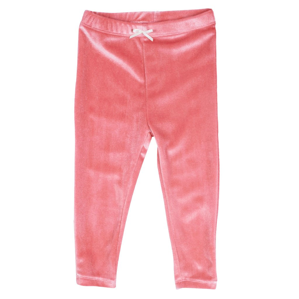 Rose Baby Velour Legging