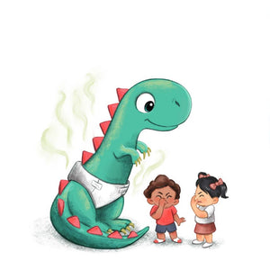 How To Potty Train A Dinosaur Book