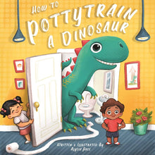 Load image into Gallery viewer, How To Potty Train A Dinosaur Book