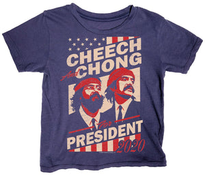 Cheech & Chong For Prez Tee